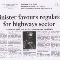 minister-favours-regulator-for-highways-sector