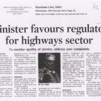 minister-favours-regulator-for-highways-sector