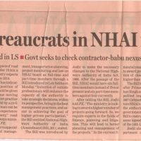 role-of-bureaucrats-in-nhai